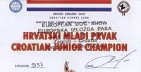 Junior Champion of Croatia